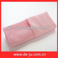 Microfiber Cleaning Pink Double Faced Towel Magic