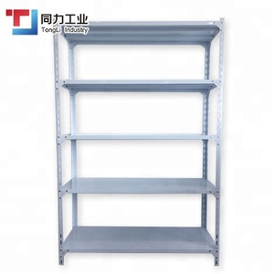 Metal Slotted Adjustable Storage Light Duty Shelf Angle Iron Rack