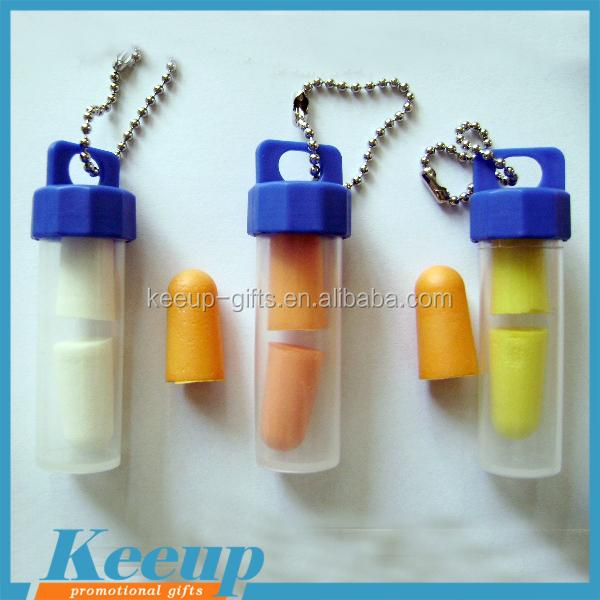 Advertising custom earplugs with plastic tube packing.jpg