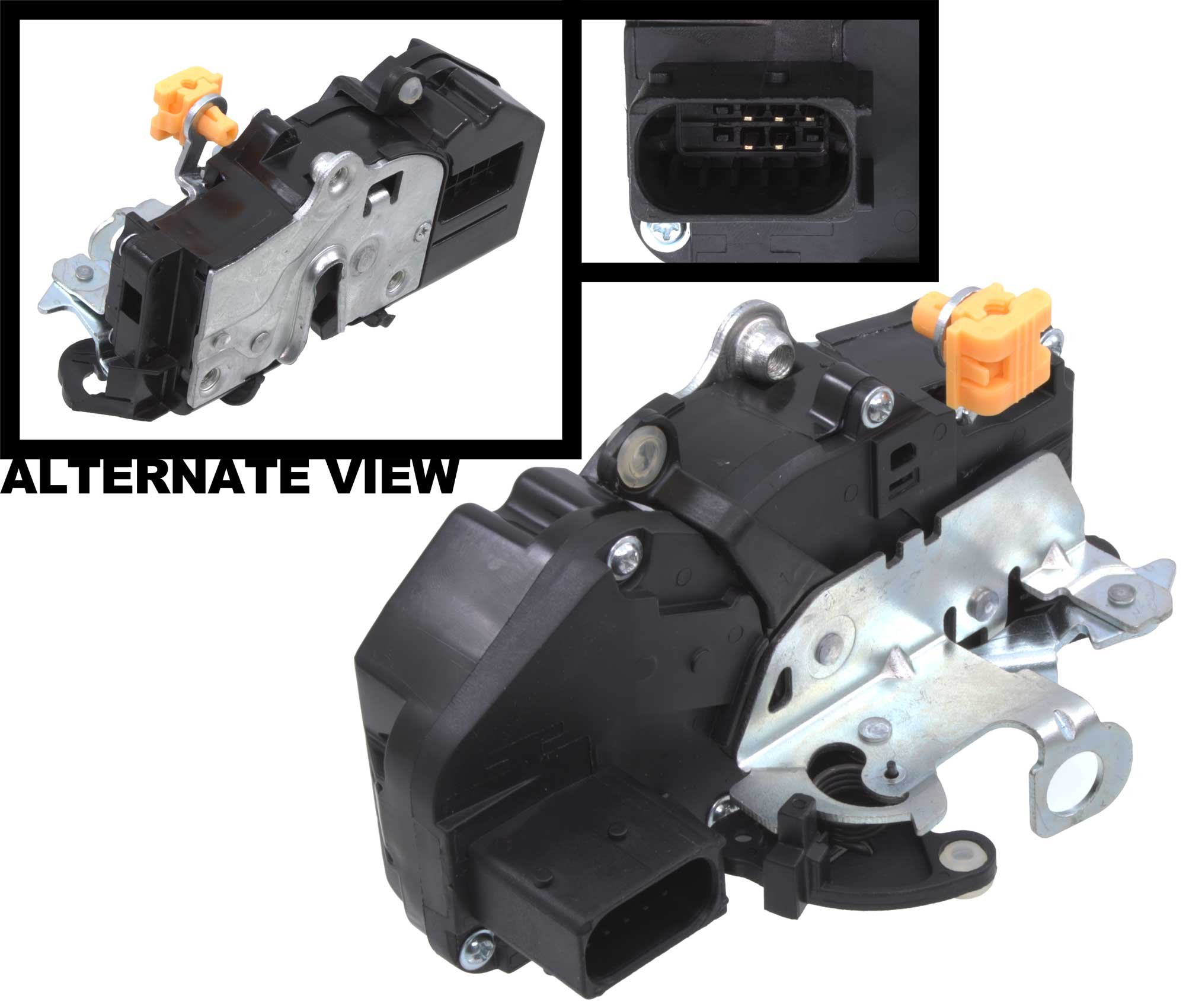 APDTY 042414 Door Latch & Lock Actuator Motor Assembly Fits Front Left (Driver-Side) 2007-2009 Escalade, Avalanche, Silverado, Suburban, Tahoe, Sierra & Yukon (Replaces 15880052, 15889954, 20783846)