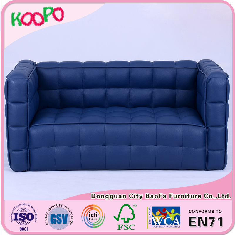 kids sofa in PU leather for alibaba stock