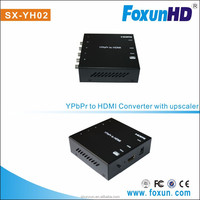 SHUNXUN HOT SELLING SX-YH02 ypbpr to hdmi converters for PS2/WII/Blu-ray DVD player/game consoles