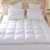 Vacuum pack luxury goose Down mattress topper