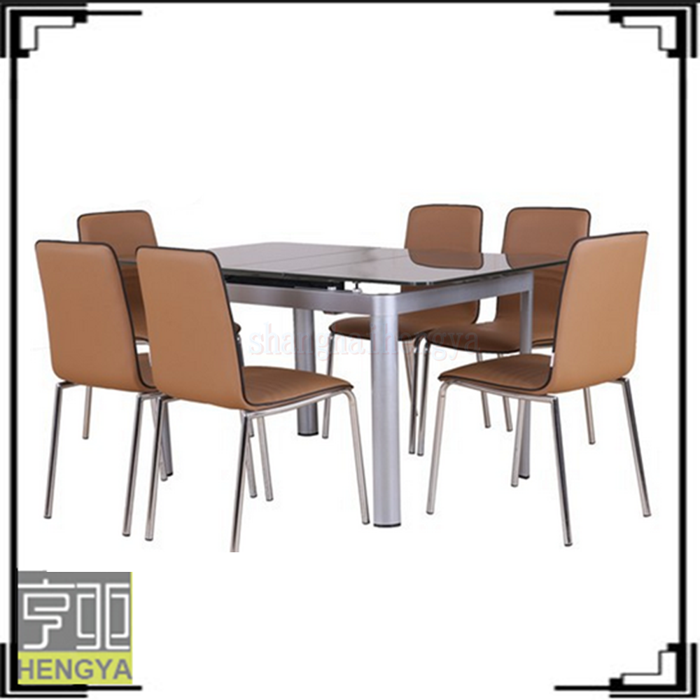 Modern expanding octagonal dining room tables