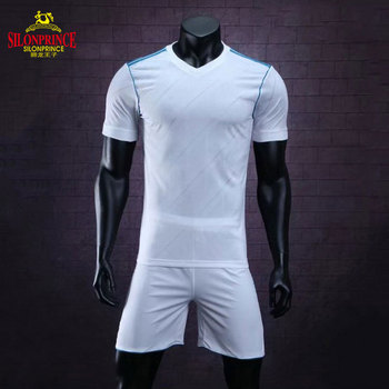 Wholesale latest football jersey designs football shirt jersey set