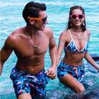 Custom Printed Swimwear Bathing Suit Mens Wholesale Swim Trunks Beach Shorts For Men