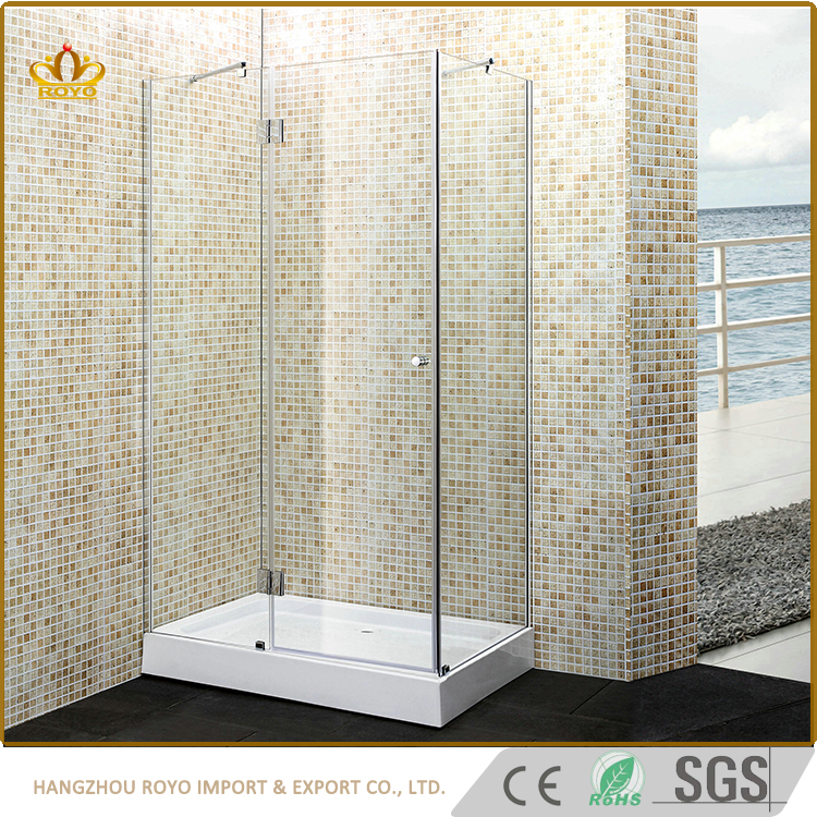 China Alibaba Wholesale Sanitary Ware Corner Entry Walk In