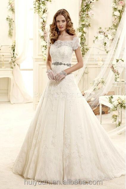 Simple Scoop Neck Lace Elegant Cap Sleeve White Wedding Saree Buy With Dress