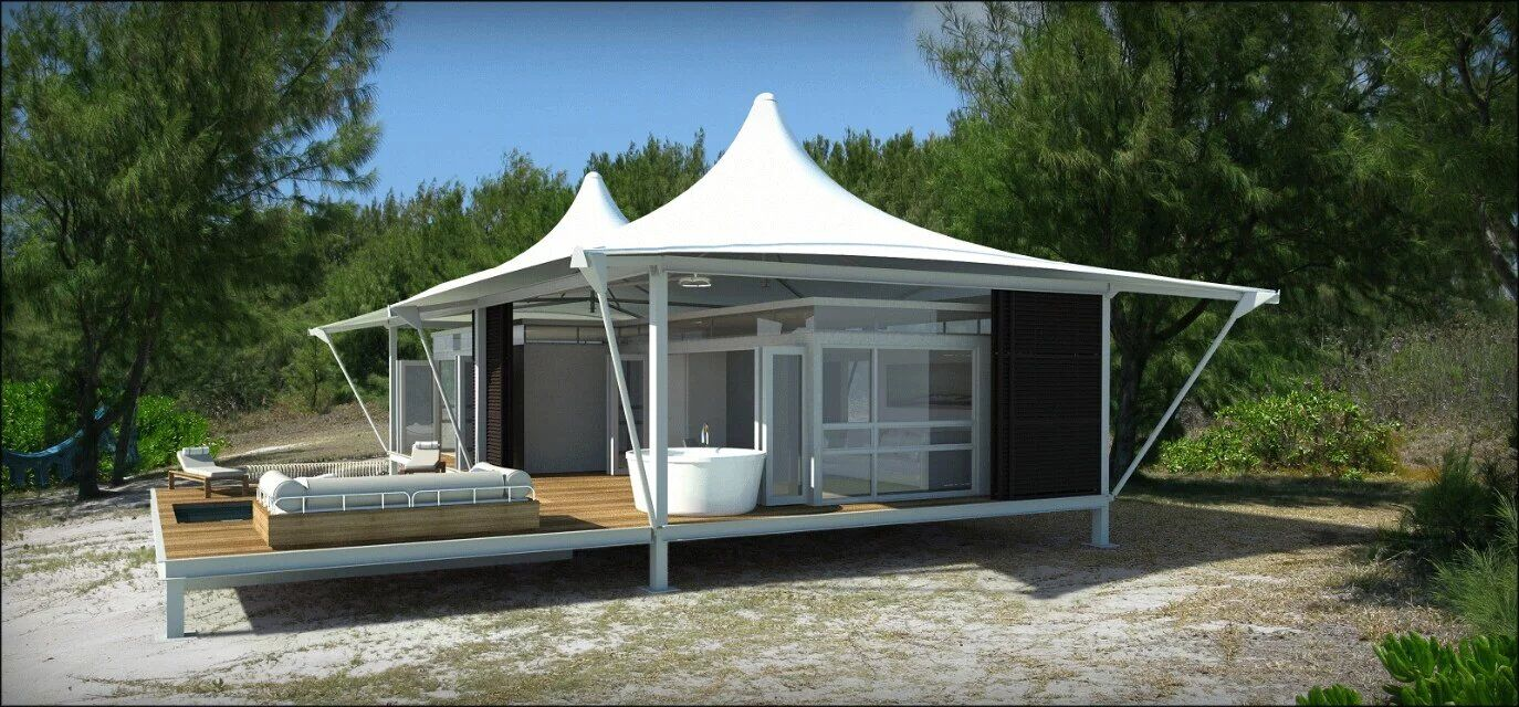 prefabricated pvc house/architecture/tent