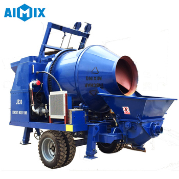 40m3/h electric pump machine concrete mixer pump for sale
