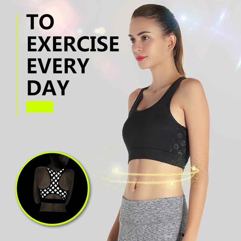 Factory Fitness Bra OEM Activewear Sweat-wicking Running Wear Women Sports Bra Reflective