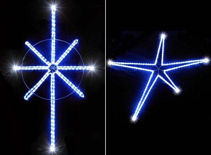 outdoor star decoration