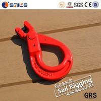 european type clevis self locking safety hook