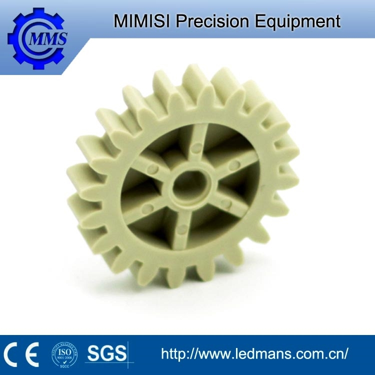MMS OEM high precision small transmission parts plastic spur gear for electric motor