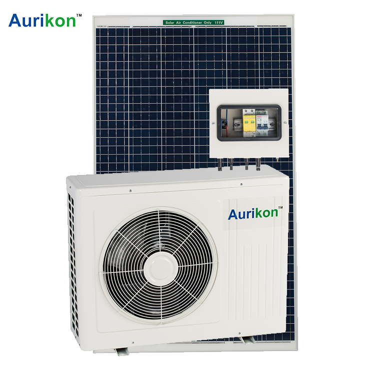 100% <strong>ac</strong> dc solar powered air conditioner for energy saving