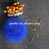 Latest Design Girls Love Fur Hand Bags Bags/ Fashion Turkey Feather Fur Bags