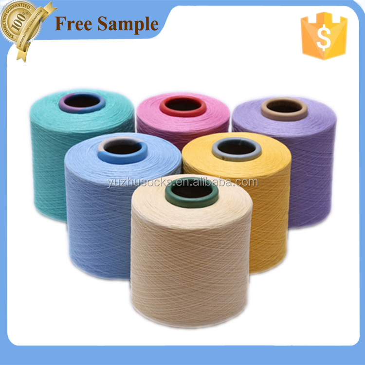 cheap cotton nylon blend yarn price for hand knitting