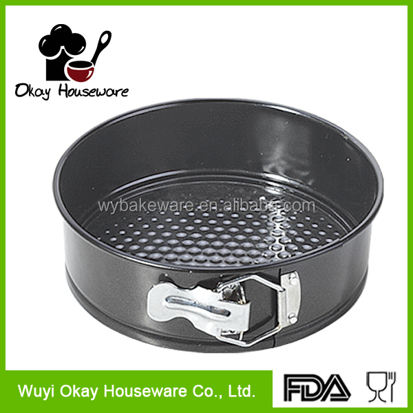 mini springform round shaped oven pan kitchen bakeware as seen on tv(BK-D2039)