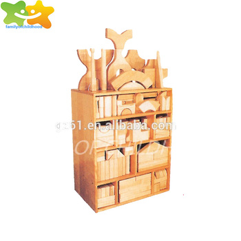 Kids Wooden Toy Montessori Brick Building Block for Sale