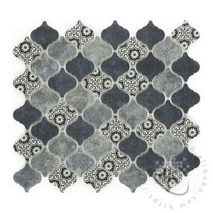Hot sale Oval Whites special crystal mosaic