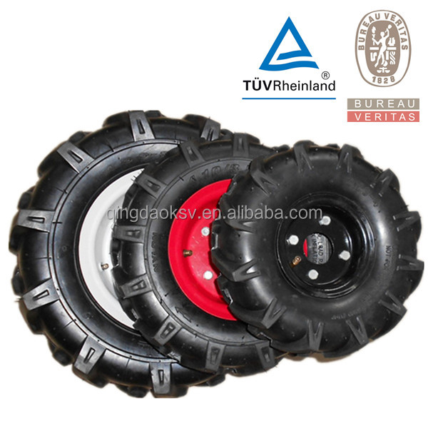 3.50-4 3.50-6 4.00-8 Mini Tiller Tire Wheel Herringbone Tyres