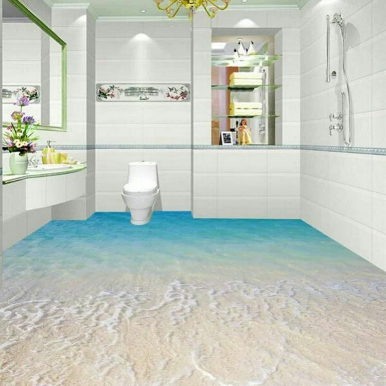 3d Bathroom Modern Ceramic Floor Tiledecorative 3d Tile Ceramic