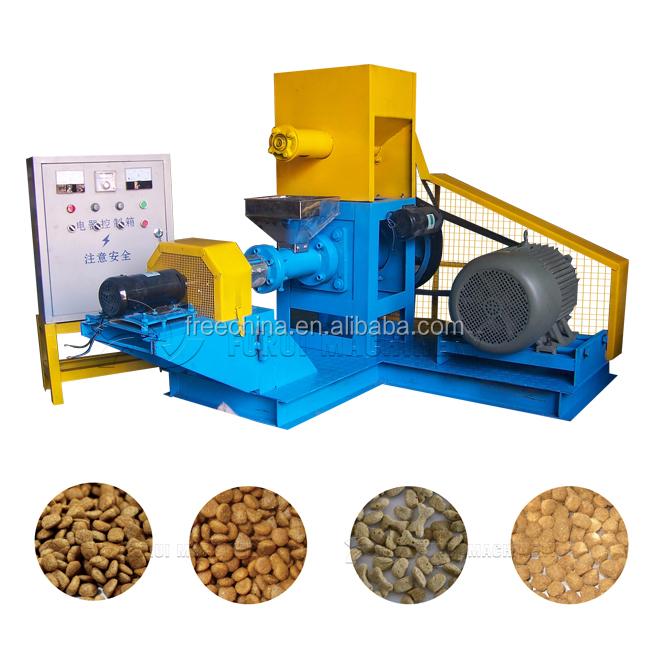 Máquina de alta qualidade para fazer ração animal/animal de estimação do gato do cão peixe pellet feed que faz a máquina