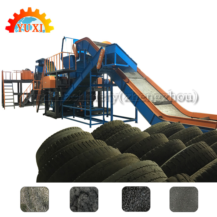 Good Quality Tire Recycling Equipment/Wasted Tire Recycling Production Line/Recycling Business