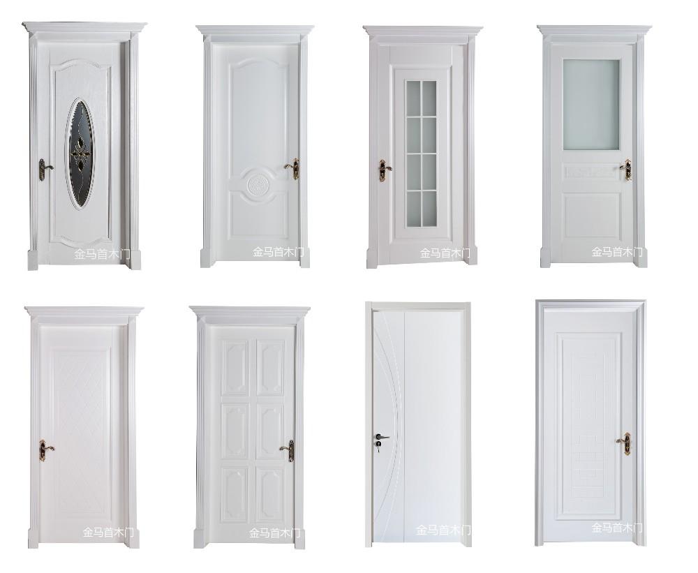 Factory wholesale shower room mdf pvc door flush door with for Cheap pvc door