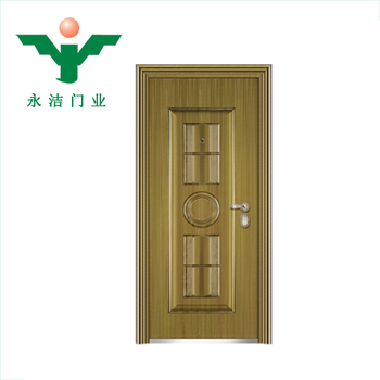American Entry Door Cooper Steel Security Doors Back Flap Hinge Corten  Steel Doors