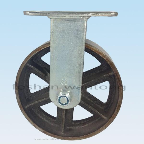 haute temp rature industrielle fonte de fer roue de roulette pour chariot pi ces de mat riel de. Black Bedroom Furniture Sets. Home Design Ideas