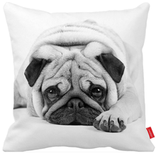 Fashion printed latest design cushion cover handmade decorative home sofa linen cotton dog pillow cover