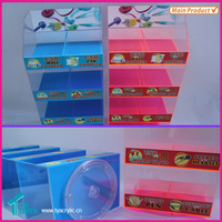 Alibaba Online Shopping Best Selling Products Acrylic Table Top Product Accessories Display Stands With Locker