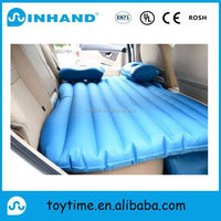 2017 hot sell inflatable air lazy car sofa with logo printing