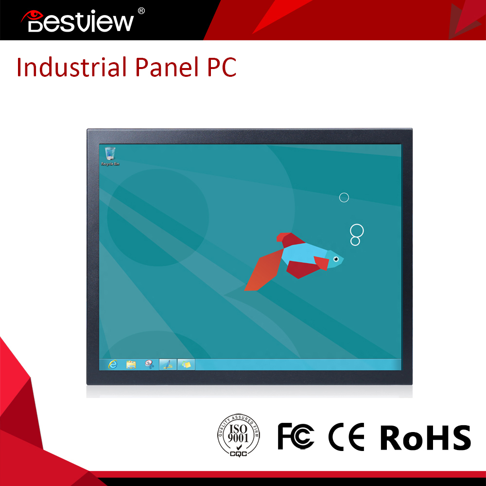 inter i5 processor 19 inch open frame industrial panel pc touch screen all in one computer