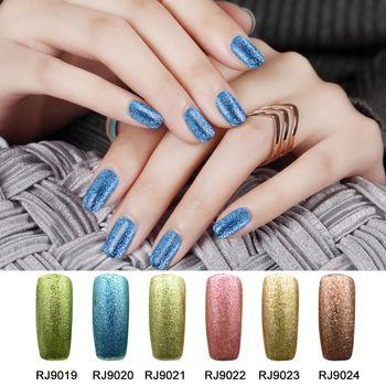 Gel Magnetic Color Nail Polish Polis With Uv Light