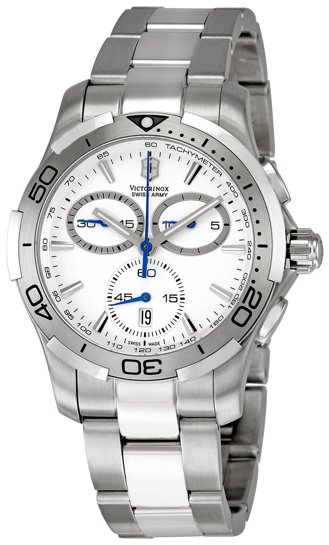 1825e775fc226 Get Quotations · Victorinox Swiss Army Men's 241303 Alliance Sport Chrono  Watch