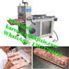 stainless steel mutton slice cutting machine / mutton beef roll slicer machine / pizza use sausage slice cutting machine