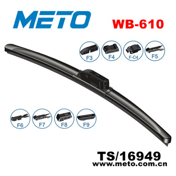 car universal frameless wiper blades for sale