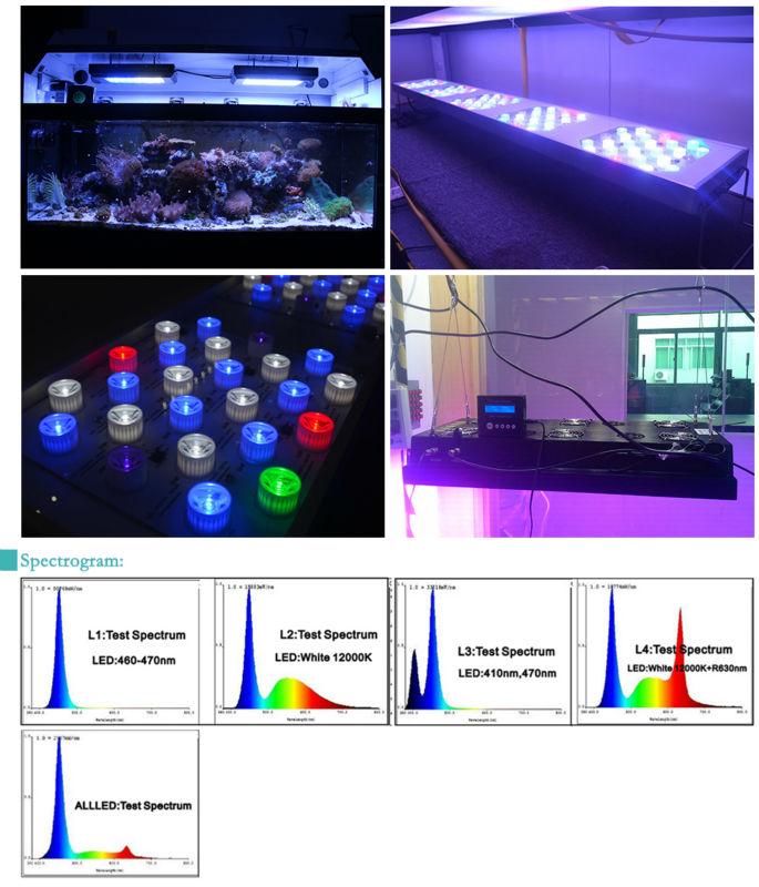 Modular Design Programmable 150w Led Aquarium Light For Reef/fish ...