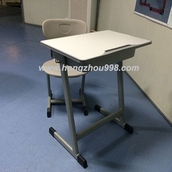 Classical School Furniture Student Desk and Chair Class Room Table and Bench