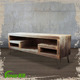 Antique Wooden Television Stand,Handmade Storage Display for Home Decor,Custom Shabby Chic TV Rack Holder Wholesale