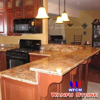 Cheap Kitchen Cabinet Countertops Brazilian Granite Colors - Buy Cheap ...