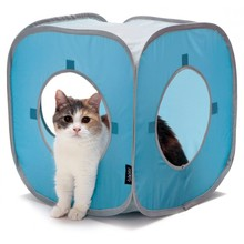 Pas cher <span class=keywords><strong>pop</strong></span> <span class=keywords><strong>up</strong></span> <span class=keywords><strong>cube</strong></span> pliable chat tunnel tunnel de jeu de chat