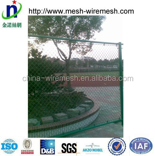 Japan market top selling products black color coated chain link fence