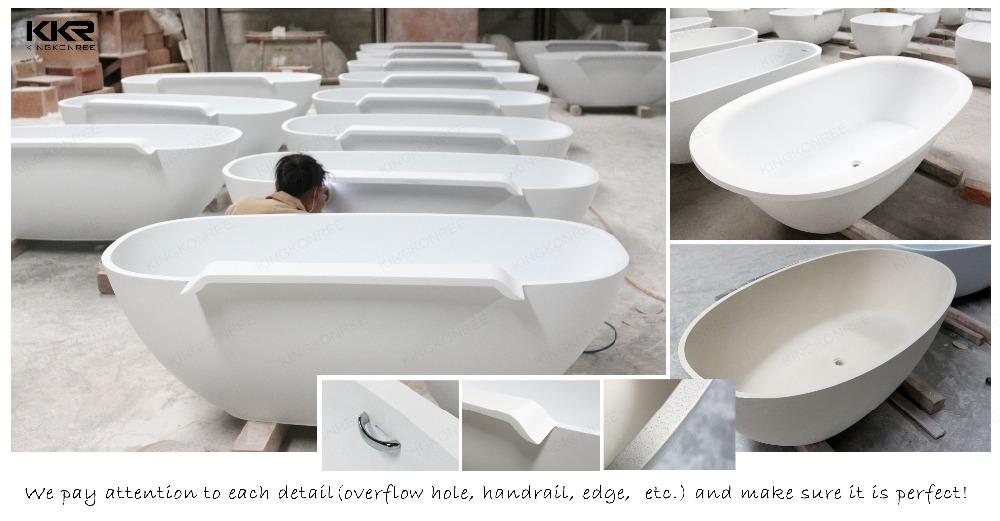 Hand carved stone bathtub, KKR freestanding bath