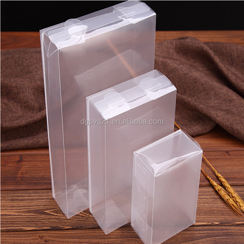 Frosted PP plastic packaging box