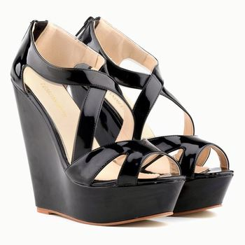 3d10489c1c New Design Ladies Women Wedge Sandals Sexy Girl Office Shoes ...