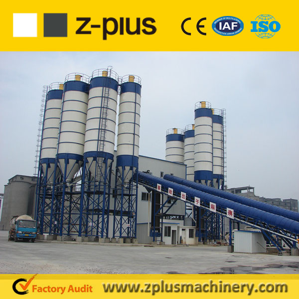2016 special offer HZS150 wet concrete batching plant for big project
