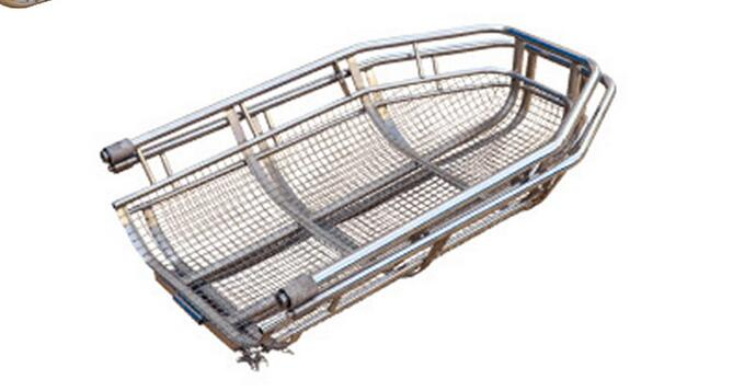 AC-BS006 First Aid Basket Stretcher Stainless Steel Foldable Basket Stretcher Emergency Helicopter Stretcher